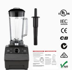 135.76$  Watch now - http://alivm8.worldwells.pw/go.php?t=32743926345 - 2L Commercial Home Smoothie Blender Fruit Juicer Food Mixer High Performance Pro