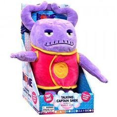 Dreamworks home - Talking Captain Smek Plush Toy - Squeeze His Tummy To Hear 5 Key Phrases from the Movie - Lightweight, Soft, Cuddly Toy - Makes for a Great Travel Buddy Birthday Party Themes, 2nd Birthday, Baby Toys, Kids Toys, Dreamworks Home, Film Home, Thing 1, Pool Toys, Toy Sale