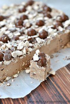 Malt Ball Fudge: make a pan of this easy, delicious fudge today!