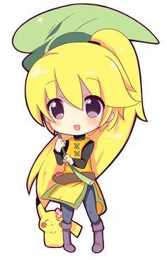 Yellow chibi and chuchu