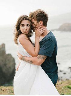 Minimalistisch moderne Hochzeitsinspirationen am Erich McVey Fotoworkshop von…