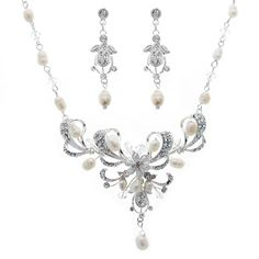 Vintage Freshwater Pearls Jewelry Set