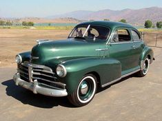 1948 Fleetmaster Sport Coupe  #chevy #classiccars #fleetmaster