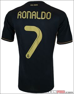 The adidas Real Madrid Cristiano Ronaldo Away Jersey 2011-2012...$84.99