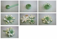 Bits of Paper: 3D Coreopsis Paper Flower