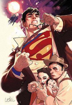 Superman: Birthright by Leinil Yu
