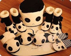 Pandas invade the world !