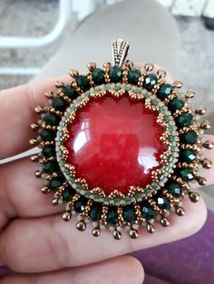 Bead Embroidery Jewelry, Beaded Jewelry Patterns, Beaded Embroidery, Beaded Brooch, Beaded Earrings, Beaded Bracelets, Beaded Ornaments, Seed Bead Jewelry, Beads And Wire