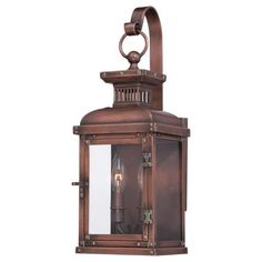 Copperton - 2 Light Wall Mount - 2 Light Wall Mount in Manhattan Copper Finish w/Clear Glass