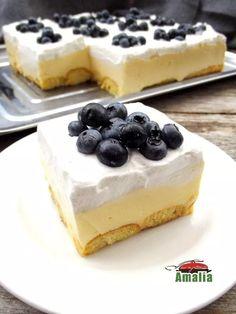 Prajitura fara coacere cu crema fina de iaurt Best Pastry Recipe, Pastry Recipes, Cooking Recipes, Baby Food Recipes, Cake Recipes, Dessert Recipes, No Cook Desserts, Homemade Cakes, Something Sweet