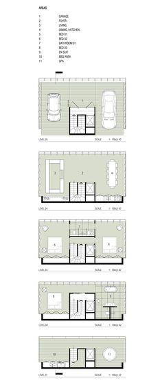 Concepto de casa colgando de un acantilado de una empresa australiana que hace casas con estructuras prefabricadas - http://2ba.by/1a8p4