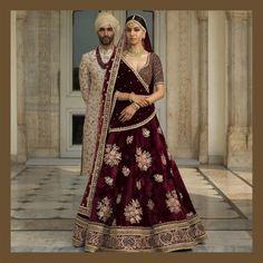 Designer sarees ,indian sari ,bollywood saris and lehenga choli sets. punjabi suits patiala salwars sets bridal lehenga and sarees. Wedding Lehnga, Indian Bridal Lehenga, Indian Bridal Outfits, Indian Bridal Wear, Red Lehenga, Indian Dresses, Anarkali, Bridal Dresses, Lehenga Choli