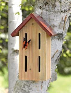 Beneficial Butterfly Shelter from Gardeners Supply Company