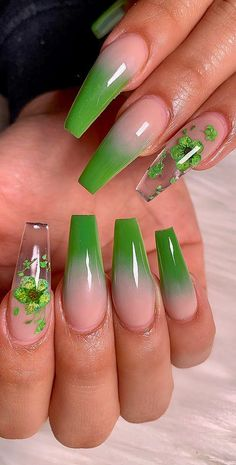 Amazing Acrylic Nail Designs ideas That Are Totally in This Year Part 29 ; acrylic nail designs for spring; Acrylic Nail Shapes, Acrylic Nails Coffin Short, Almond Acrylic Nails, Summer Acrylic Nails, Best Acrylic Nails, Almond Nails, Ombre Nail Designs, Nail Designs Spring, Acrylic Nail Designs