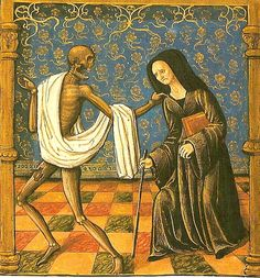 Death and the Maiden - 15th century