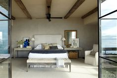 Beautiful Neutral Master Bedroom