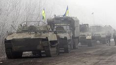 Ukraine's army is on the brink of a major defeat as Russian-backed separatists rebound refreshed from a short ceasefire to encircle the defenders of a key city. Russian President Vladimir Putin overnight demanded the Kiev government tell its soldiers in the city of Debaltseve to lay down their weapons and surrender to pro-Moscow rebels.