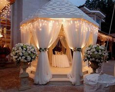 Glamorous party room!