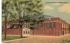 Alumni Gymnasium Auburn Indiana P26390   eBay
