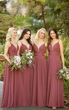 Sorella Vita Bridesmaid Dresses This formal bridesmaid dress from Sorella Vita is a total stunner! A plunging, slightly curved V-neckline is feminine and figure-flattering—complete with an illusion tu Sorella Vita Bridesmaid Dresses, Formal Bridesmaids Dresses, Bridesmaid Dress Colors, Wedding Bridesmaids, Cute Bridesmaid Dresses, Autumn Bridesmaids, Grecian Bridesmaid Dress, Bridesmade Dresses, Formal Dresses