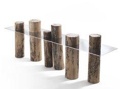 Consolle in legno di briccola VENICE - Riva 1920