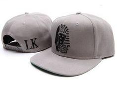 228fd347b51b Last Kings Snapback Hat Cap Gray Black