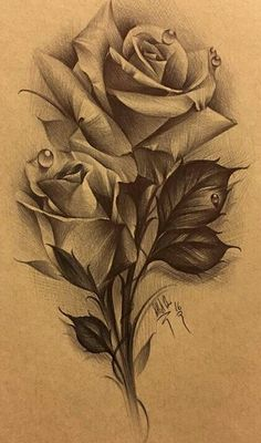 Flowers - tattoo pattern- Blumen – Tattoo Muster flowers Best Picture For Tattoo Pattern star For Yo Rose Flower Tattoos, Flower Tattoo Designs, Rose Drawing Tattoo, Tattoo Drawings, Realistic Rose Tattoo, Rose Zeichnung Tattoo, Body Art Tattoos, Sleeve Tattoos, Muster Tattoos