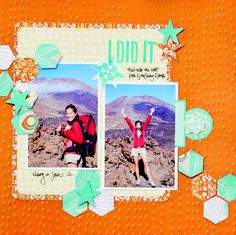 IMediterranean Market Scrapbook Layout Project Idea from Creative Memories ; click for details and instructions: http://projectcenter.creativememories.com/photos/mediterranean_market_/i-did-it-mediterranean-market-scrapbook-layout-project-idea.html