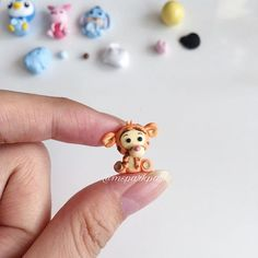 This is definitely my favourite one  it's tigger !!!! It's also my first time making tigger and I absolutely love how this turns out ! So cute !!!!