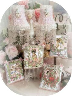 Romantic Victorian Home Collection: Crystal Roses Collection