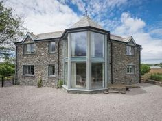 Lily Hall is a luxury holiday cottage in Ennerdale sleeping with 2 pets welcome. Lake District Cottages, Luxury Holiday Cottages, Holiday Accommodation, Property Development, Bay Window, Renting A House, Home And Living, Living Room, Building A House