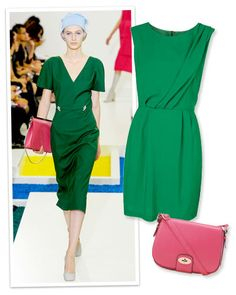 Spring's Hottest Color Combos: Green and Pink