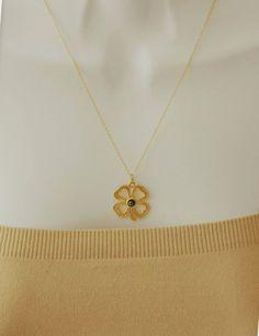 Evil Eye Gold Evil Eye Necklace Flower Evil Eye by stylelovers