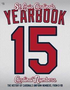 The countdown is over. The 2015 Cardinals Yearbook has arrived!