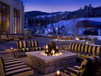 Park Hyatt Beaver Creek - Love this hotel in Beaver Creek!  The s'more bar outside is the best!