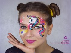 UNICORN Face Painting by Silvia Vitali