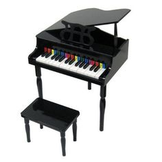 Music and Art 11735: 30 Keys Child S Baby Grand Piano With Bench Ad3 -> BUY IT NOW ONLY: $94.95 on eBay!