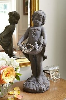 Little French Girl in Home I 2013 from Soft Surroundings on shop.CatalogSpree.com, my personal digital mall.