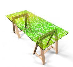 Klebefolie für Tisch