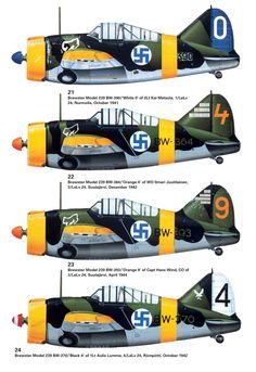 F2A-1 Buffalo Model B-239 Finland Air, Brewster Buffalo, Finnish Air Force, Navy Aircraft, Supermarine Spitfire, Ww2 Planes, Parasol, Royal Air Force, Aviation Art