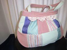 tasche,patchwork,rosa,wolle,handmade