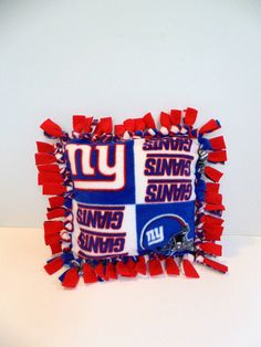 Giants Team Pillow New York Giants Pillow by PillowsEtceteraDecor, $23.50