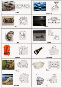 Tecken som stöd: Fiska kräftor