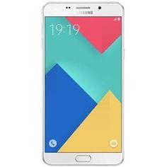 Samsung Galaxy A9 Pro A9100 Dual SIM 32GB 4G LTE - White - Front view