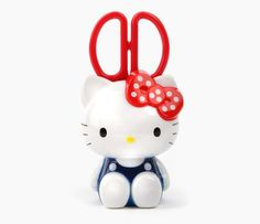 Hello Kitty Scissors and Stand: Bow Hello Kitty Bow, Sanrio Hello Kitty, Hello Hello, Hello Kitty Merchandise, Cute Office Supplies, Hello Kitty Pictures, Dora The Explorer, Office Stationery, Geek Stuff