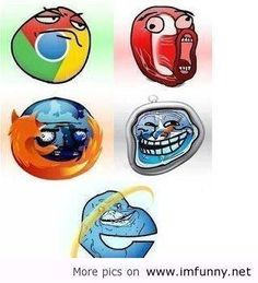 Internet Browser trolls.
