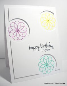 Simplicity: Riffing on Card Creations: Inspired by Lisa Adessa