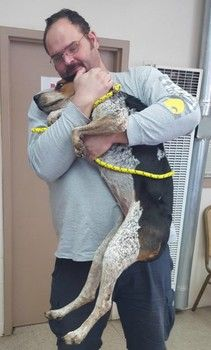 Heartbreaking photo of shelter dog up for adoption reunites owner with lost pet-slide0