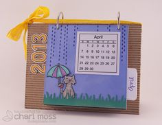2013 Calendar from Mossy made