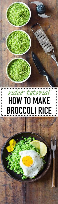 You've heard of the famous cauliflower rice, but have you ever heard of broccoli rice? It's equally - if not more - delicious and here is how to make it. via @greenhealthycoo